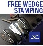 Mizuno wedge stamping
