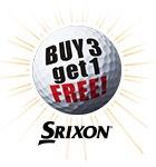 Srixon buy 3 get 1 free