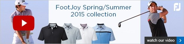 FootJoy Spring Summer 2015 clothing