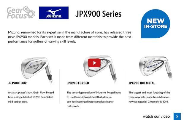 Mizuno JPX900 Series