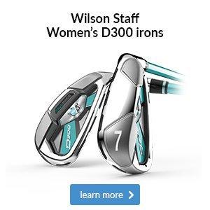 Wilson Staff Women's D300 irons